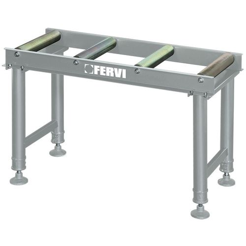 BANCO RODILLOS ADJUSTABLE EN ALTURA 1000x460mm FERVI R001/04