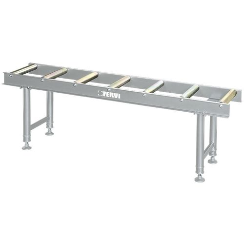 BANCO RODILLOS ADJUSTABLE EN ALTURA 2000 x 460 mm FERVI R001/07