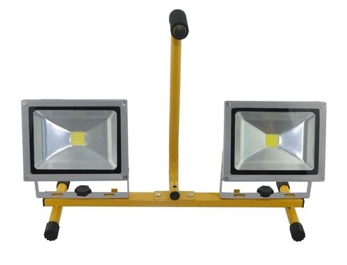 Foco proyector LED DOBLE suelo ZBLS2X10 2 X 10 W.2x700 lumens METALWORKS